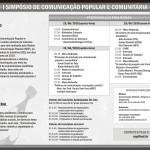 I SIMPÓSIO DE COMUNICAÇÃO POPULAR E COMUNITÁRIA
