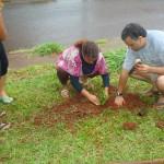 Moradores do Jd. Leblon realizam primeira ação da Agenda