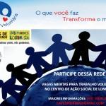 CAV Centro de Ação Voluntária de Londrina procurar voluntario para trabalhar na sede