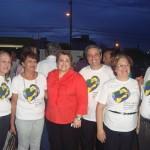 COMPAZ entrega para o Ministro Gilbero Carvalho documento e pede apoio.