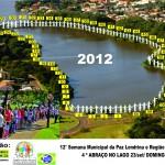 Venha ajudar a organizar o maior abraço no lago de Londrina.