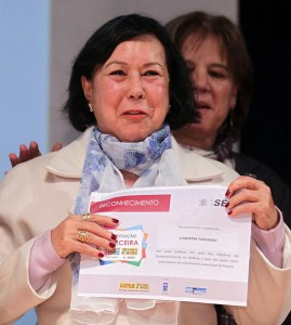 Mildred recebe o Selo ODM