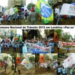 Aberta a Semana Nacional do Trânsito 2012 em Londrina