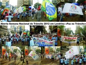 Paz no Trânsito em Londrina - 2012
