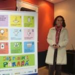 Nesta quarta (18/maio/11) foi realizada palestra sobre a saúde da gestante.