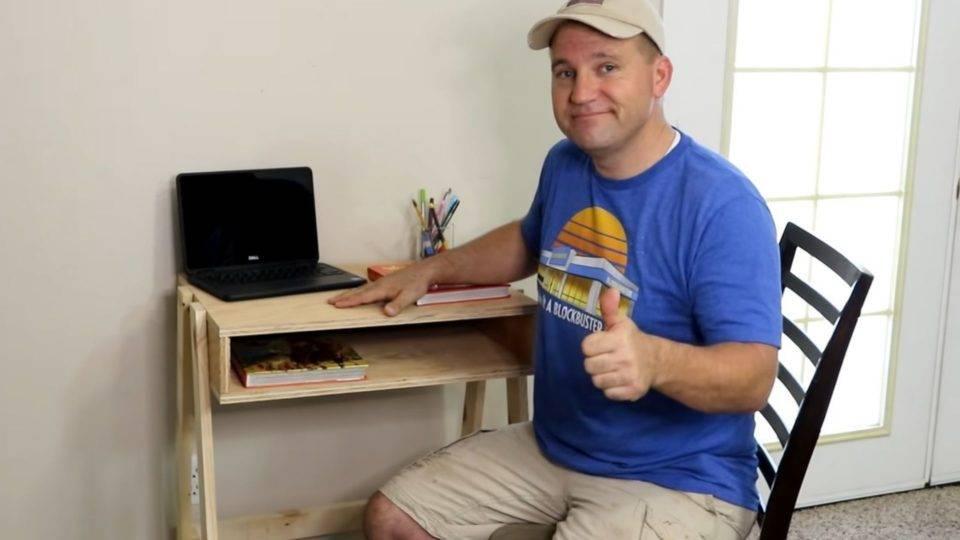Qual a sua habilidade? Trabalhar com madeira?